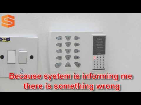 Alarm System Beeping Sound?