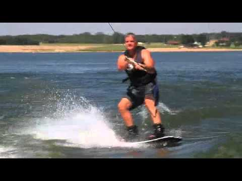 Wake boarding Fast Owl Face Plant