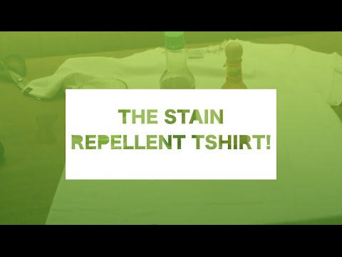 Threadsmiths - Will this T-Shirt Stain? Soy Sauce, Hot Sauce & Water Test
