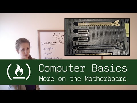 Computer Basics 9: More on the Motherboard