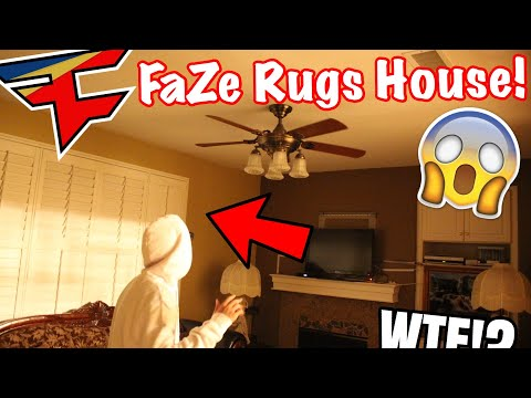 SOMEONE TRIED BREAKING IN THE HOUSE! w/ FaZe Rug