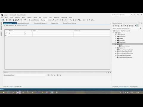 Tutorial Windows 8: Utilizar Multilingual App Toolkit