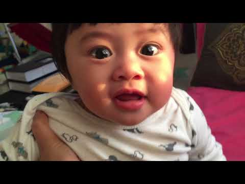 Baby Nolan smiles everyday all day