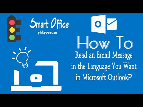 Read Email in Preferred Language in Outlook