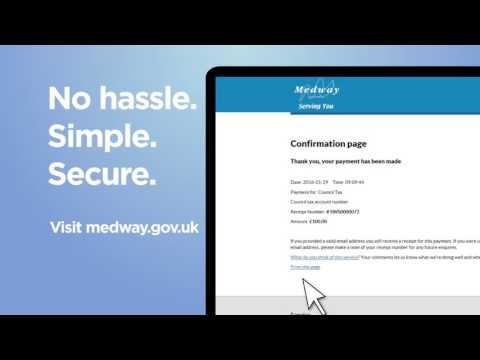 Medway Council - Pay online