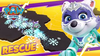 Mighty Pups Save Monkeys from the Volcano! 🙉 Cartoon and Game Rescue PAW Patrol Official & Friends