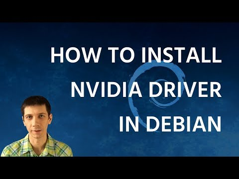 How to Install Nvidia Driver in Debian 9 Stretch + XFCE fix