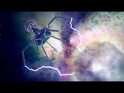 Nanobots fighting viruses in the human body