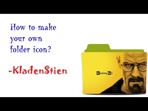 How to make your own folder icon?
