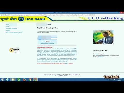 How Register UCO Bank Internet/Online Banking Without Going To Bank At Home Within 2 Days|2017Latest