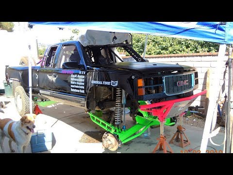 1998 GMC Sierra 1500 Prerunner Build Project