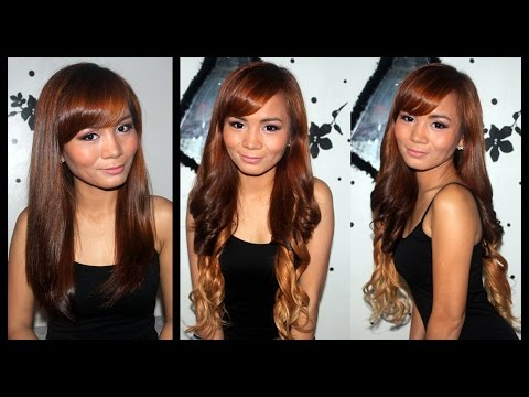 How to Fake OMBRE HAIR using Hair Extensions ♛