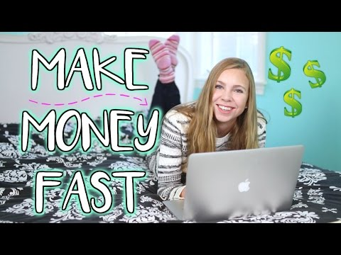 MAKE MONEY FAST AS A TEENAGER! (+ money saving tips!)