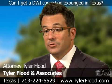 Can I Get A DWI Conviction Expunged In Texas?