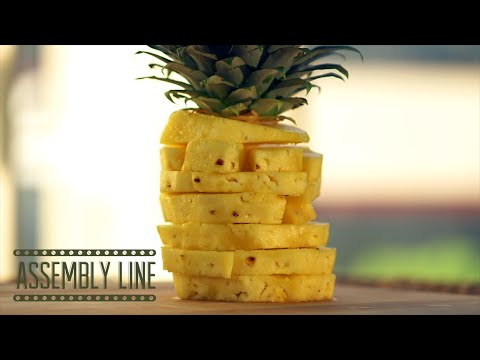 How To Break Down a Pineapple | Assembly Line
