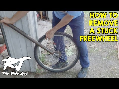 Simple Trick To Remove Stuck Freewheel From A Bike Wheel