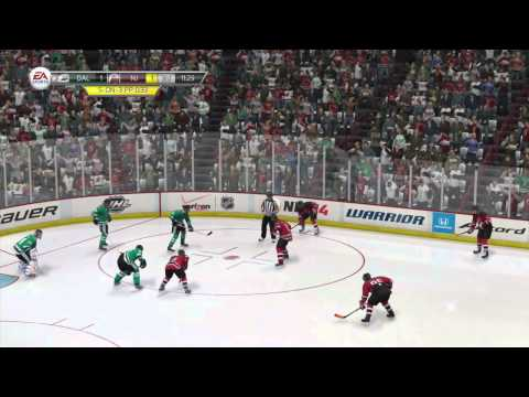 NHL 14 Early Access Online Team Play Gameplay as Goalie