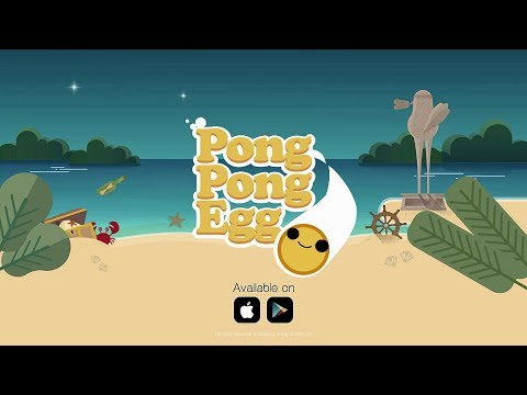Pong Pong Egg (by Shaking Sheep Studio) - iOS / Android - Gameplay Trailer