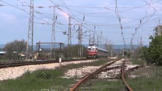 44 125 с новите спални вагони за БДЖ ПП през сп. Кочово