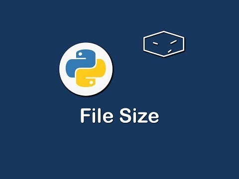 file size in python