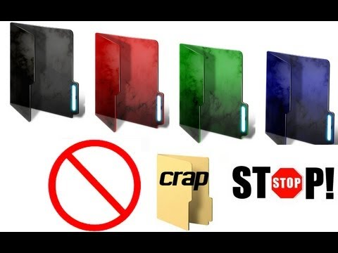 How to change the colour of your pc folder. Windows 7