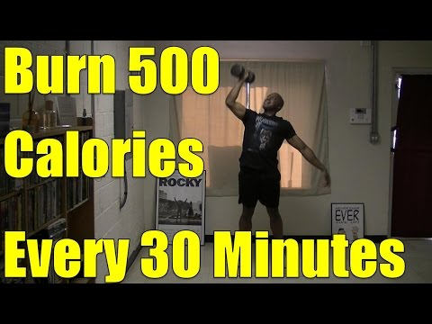 10 Minute HIIT Workout At-Home (Burn 500 calories every 30 minutes)