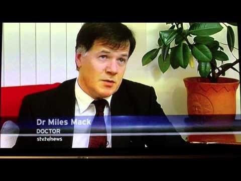 Lyme disease - Nicola Seal, Scottish TV news Jan 2014