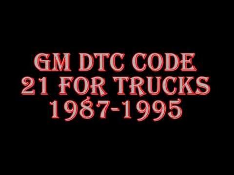 94 SC engine run obd1 code check - Obd1 Code 15 Gm