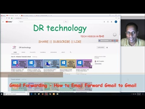 Gmail Forwarding - How to Email Forward Gmail to Gmail | Easy Tutorials in Hindi