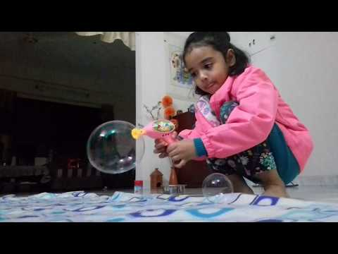 How to make Standing Soap Bubbles without popping