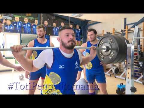 #RugbyRomania Antrenament sala de forta pachetul de inaintare