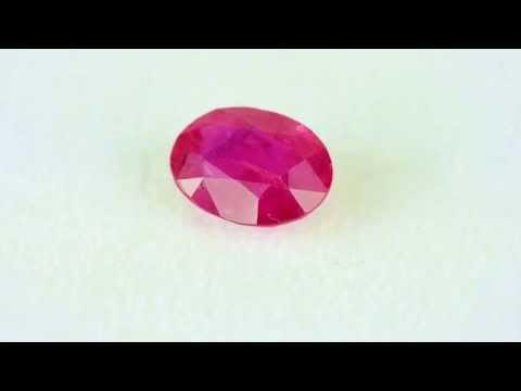 3.43ct Burmese Oval Ruby