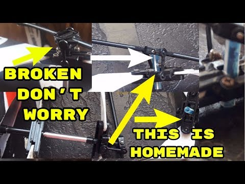 How to Repair Balance Bar of RC helicopter