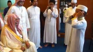Sesi Talaqqi Azan Bersanad Amnan Bersama Syeikh Ali Ahmad Molla, Bilal Masjidil Haram