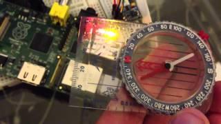 Digital Compass With HMC5883L using CVAVR (C Language) | Music Jinni