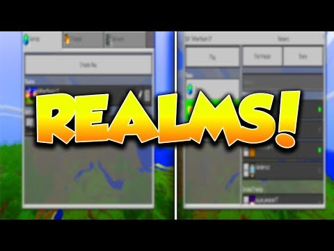 JOIN THE BEST MCPE REALMS TODAY!!!! :D