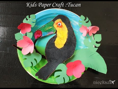 Kids Paper Craft Toucan: Fun craft for kids