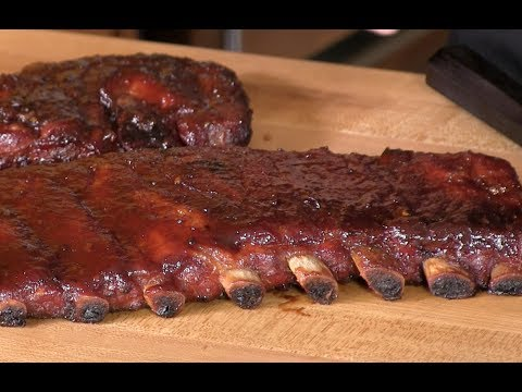 Brown Sugar Applewood BBQ Spare Ribs Recipe! (How To Smoke Spare Ribs)