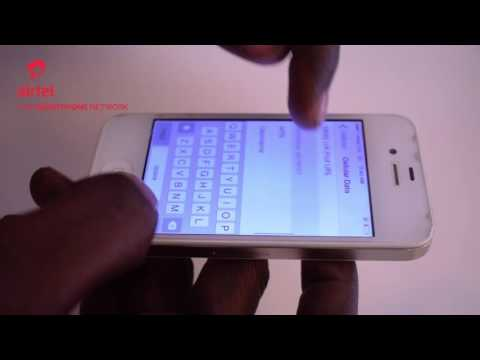 How to Manually Set-Up Airtel Internet on your iPhone