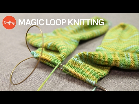 Magic Loop Knitting Basics + Starting Magic Loop Socks | Kate Gilbert