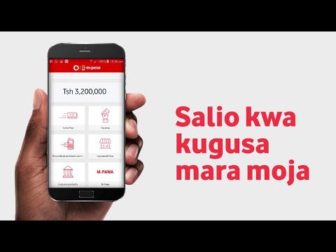 Okoa Muda, Rahisisha Miamala na M-Pesa App