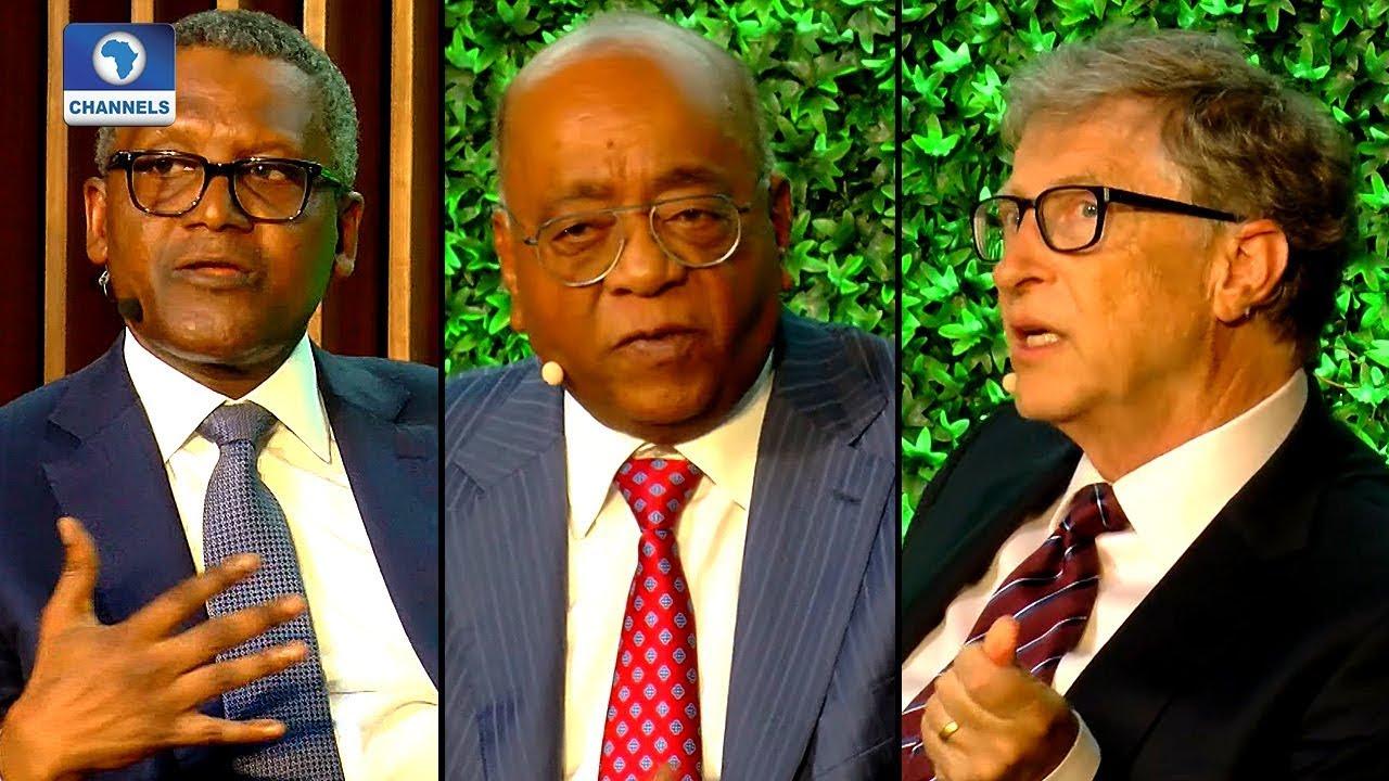 Dangote and Bill Gates Discuss Africa's Future