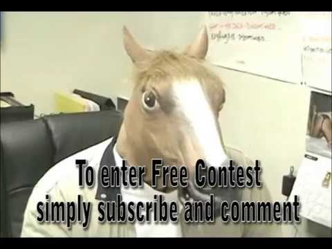Win a Horse Head Mask - Free Contest! - WON! - CONTEST CLOSED