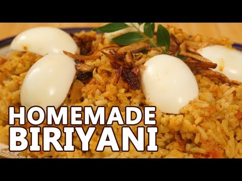Homemade Chicken Biriyani Recipe | Mallika Joseph FoodTube