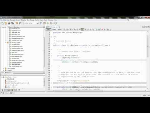 Bài 37 Java Swing: Slider