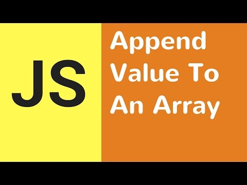 Javascript - How To Append Value To An Array From Input Text In JS [ with source code ]