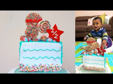 Half Birthday Cake | Meet my baby