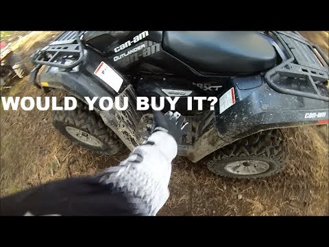 Can Am Outlander 650 First Ride!