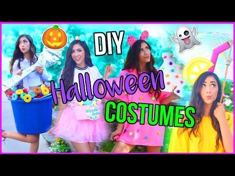 DIY CRAZY Halloween Costumes!