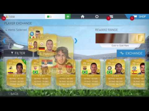CRAZY INFORM PLAYER EXCHANGE FIFA 16 IOS/Android Ultimate Team